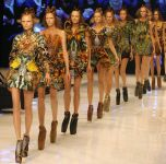Fashion models catwalk thumbnail