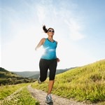 Pregnant running thumbnail