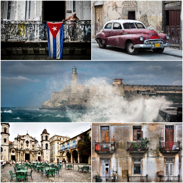 Havana collage