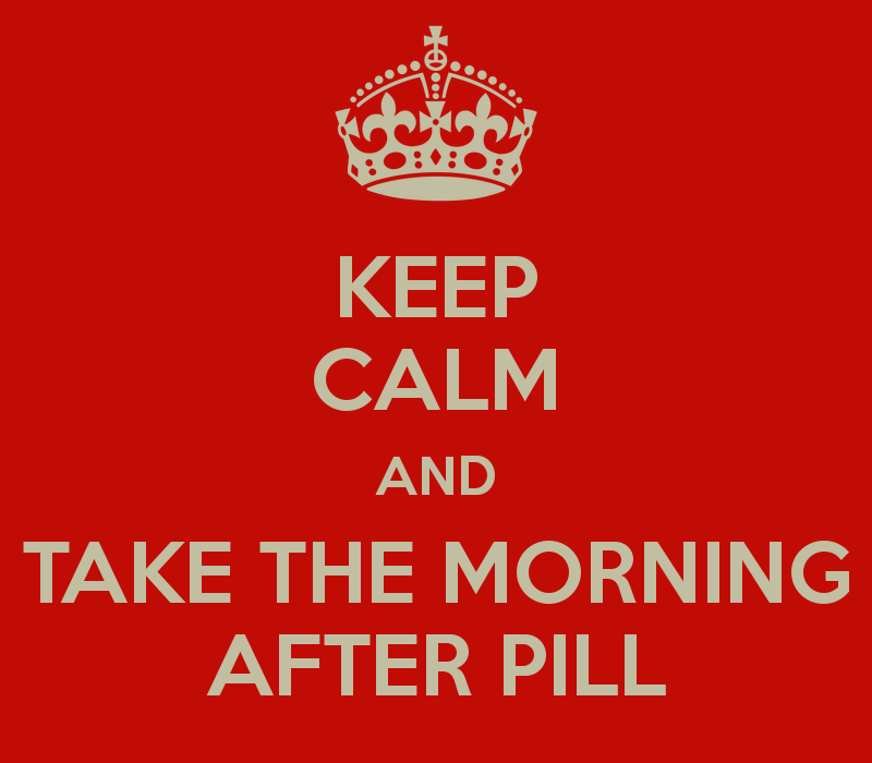 emergency contraception keep calm and take the morning after - Morning After Pill Time Frame