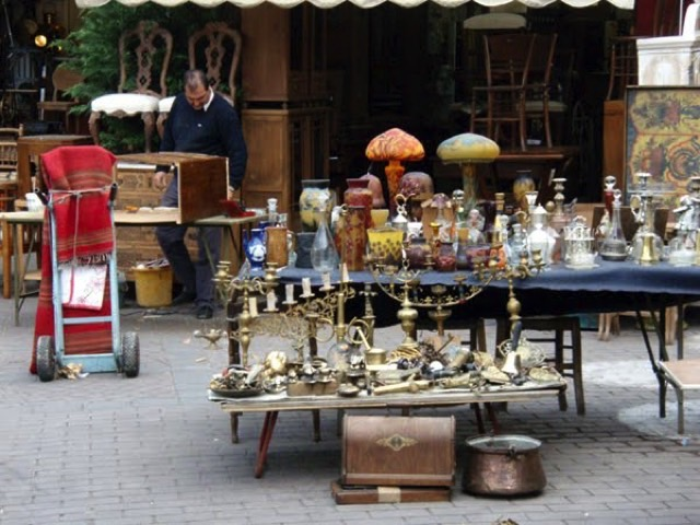 Monastiraki flea market resized