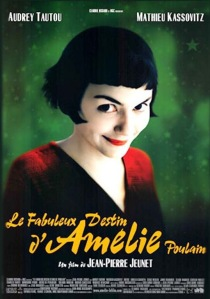 French comedies Amelie poster