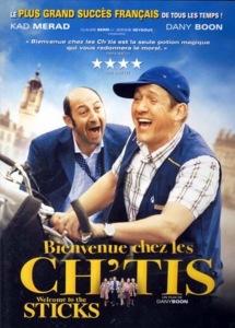 French comedies Bienvenue Chez les Ch'tis