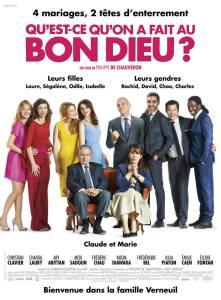 French comedies Qu'est-ce_qu'on_a_fait_au_bon_dieu?_poster