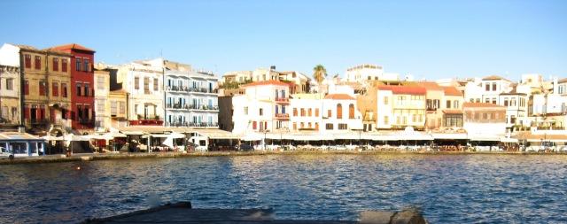 Crete Chania Venetian Harbour px