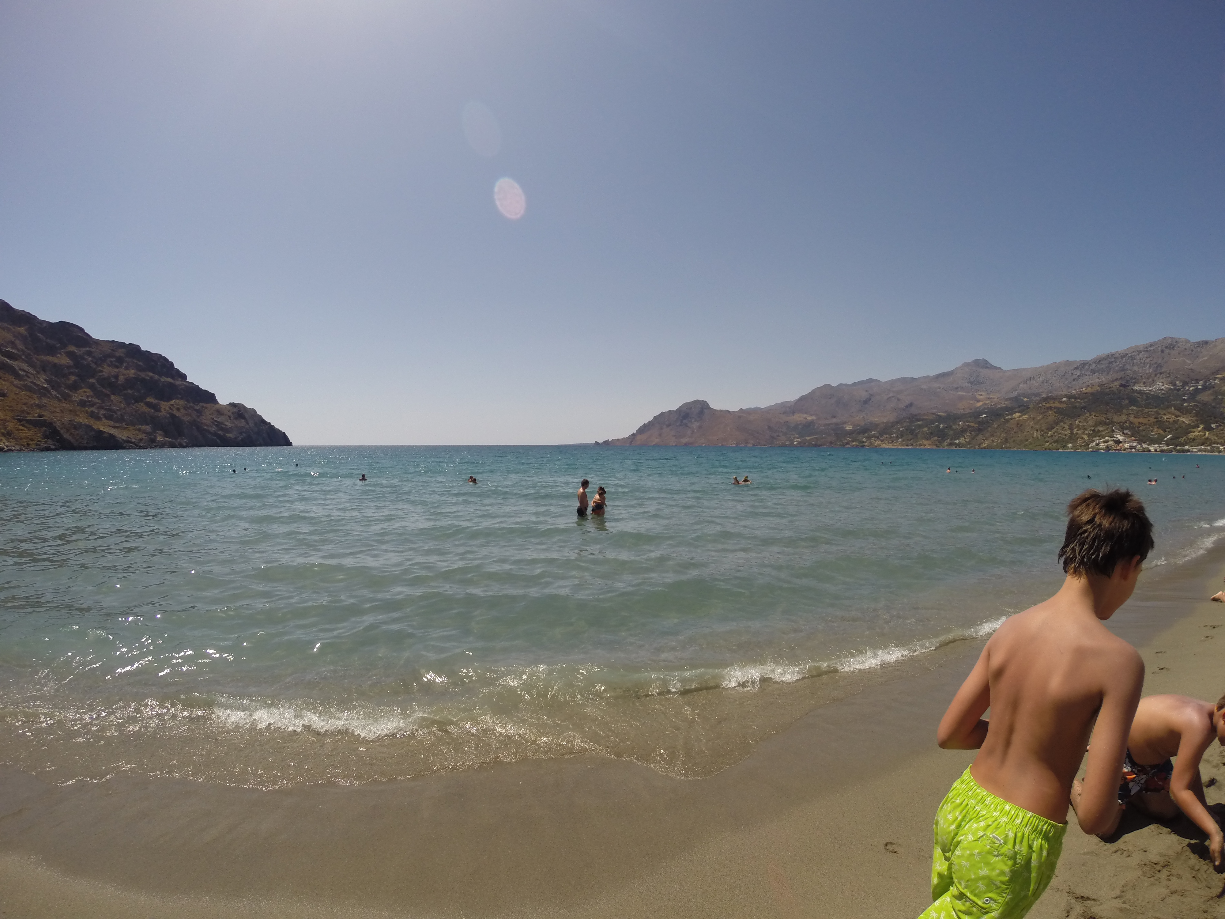 Its Location In A Closed Bay Makes It Quiet Beach With Warm Waters