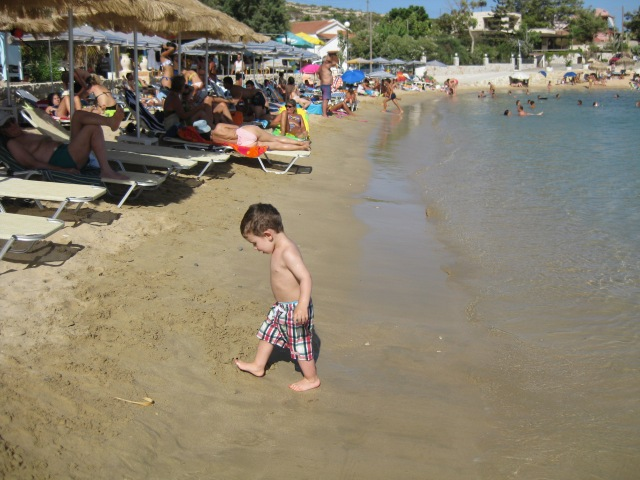 Crete Souda beach