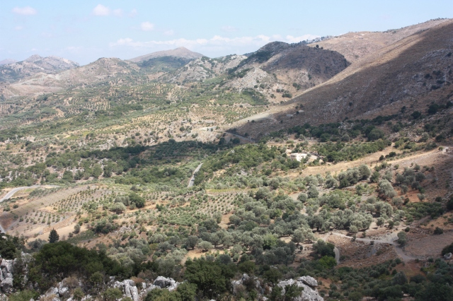 Crete View from Zoniana Cave