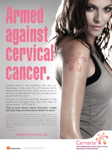 HPV vaccine armed against cancer