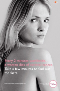 HPV vaccine every 2 minutes a woman dies