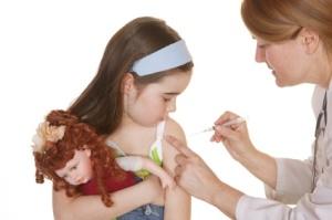 HPV vaccine school girl