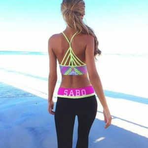 Fashion spandex outfit