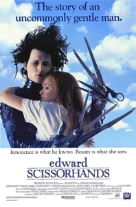 Unconventional love Edward scissorhands poster