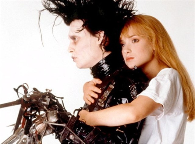 Unconventional love Edward Scissorhands
