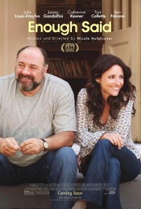 Unconventional love Enough Said poster