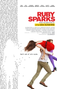 Unconventional love Ruby Sparks poster