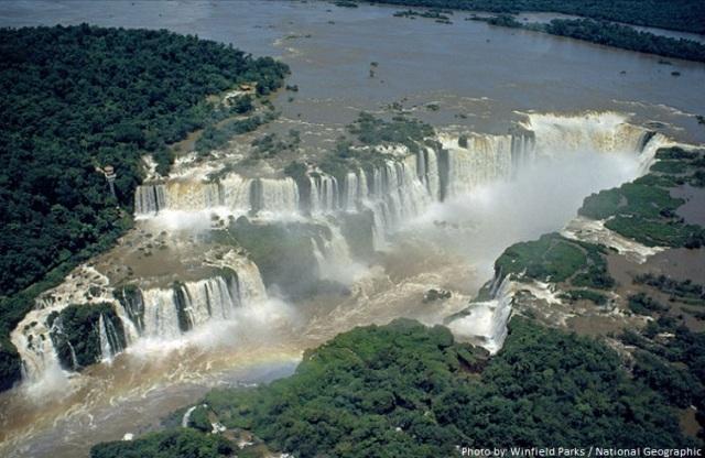 Argentina unique experience Iguazu falls
