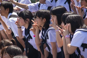 HPV vaccine 2 japanese girls