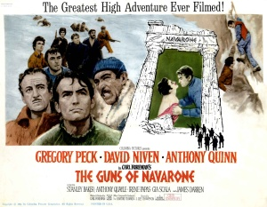 Movies in Greece Guns of Navarone